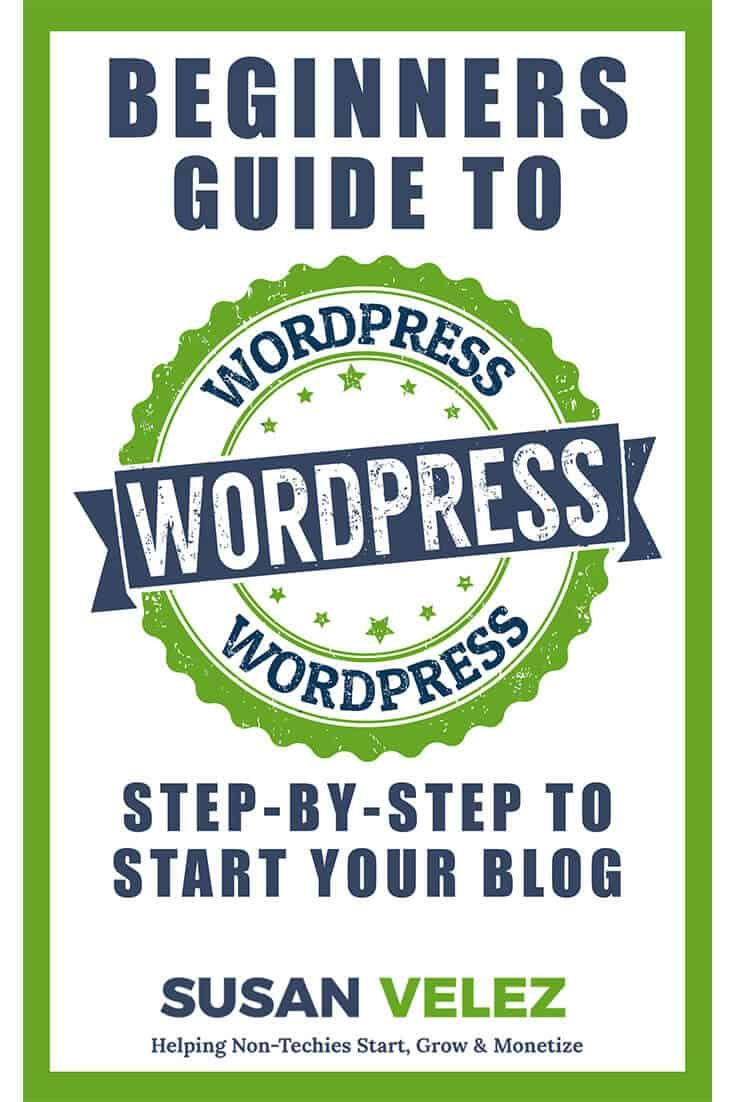 The WordPress Complete Beginners Guide My New Kindle eBook was written to help you get your first WordPress blog started. Do you want to start your blog this year? If so then now is the time to get my step-by-step guide that will help you get your blog set up today! https://susanvelez.com/wordpress-complete-beginners-guide-new-kindle-ebook/