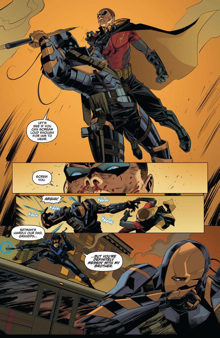 Batman - Arkham Knight - Genesis #2. We don't talk about how Tim looks in Arkham Knight