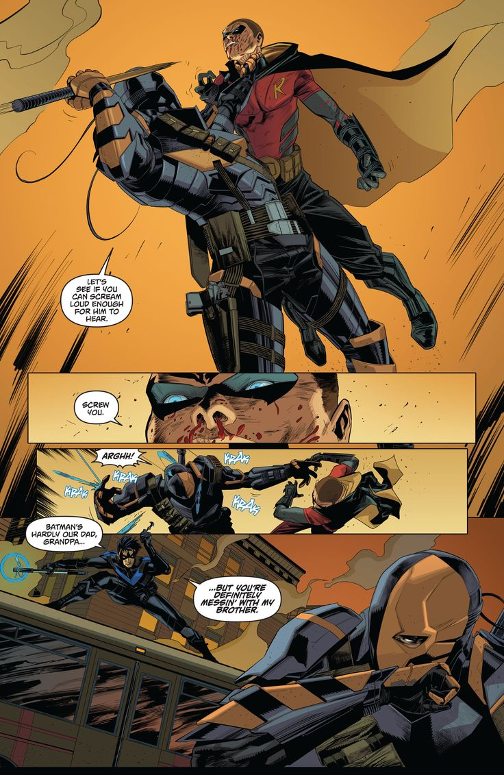 Batman - Arkham Knight - Genesis #2. We don't talk about how Tim looks in Arkham Knight