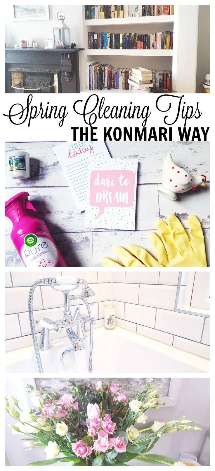 5 Spring Cleaning Tips the Konmari Way!