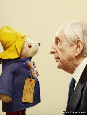 Paddington Bear author Michael Bond writes new book