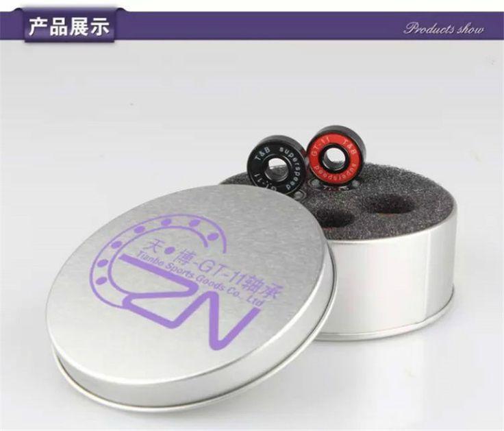 Специальная конструкция для профессионального катание, Оригинальные и B GT-11 608 подшипник для роликовых коньков катание на роликовых коньках, Лучше , чем ILQ-11