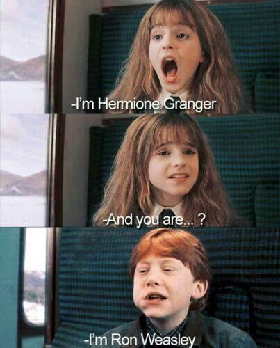 Hermione granger and ron weasley potterhead zone - Harry potter hermione granger ron weasley ...