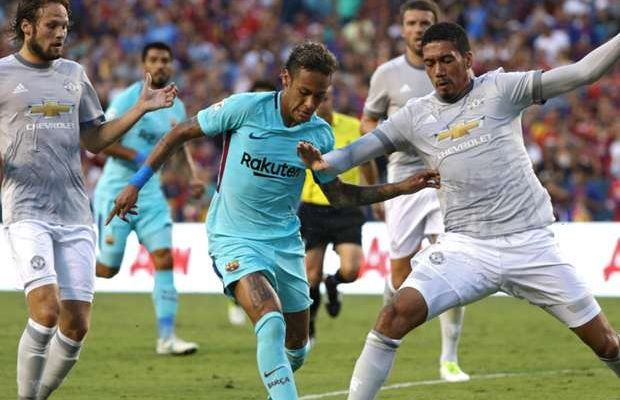 Barcelona vs Manchester United: Neymar strikes as Mourinhos men lose