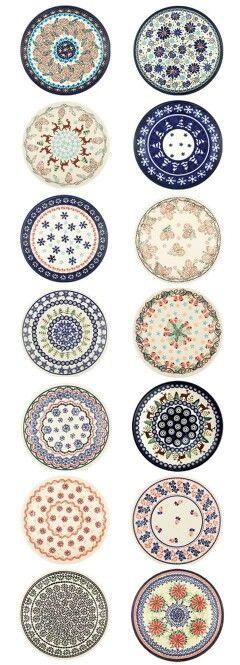 Beautiful polish pottery