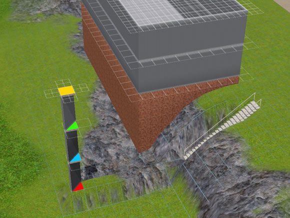 Bildergebnis für sims 3 haus abhang