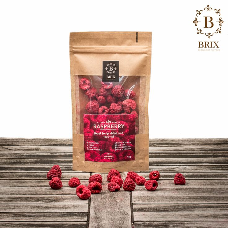 Finest freeze dried crispy Raspberries  Photo courtesy of Brix-Grown for flavour #brixproducts #brixgrownforflavour #freezedriedfruitthatchangedmylife #FreezeDriedFruit #raw #vegan #healthy #crispy #raspberry #natural #noaddedsugar #foodpic #flavour #tasty #health #healthyfood #product #design