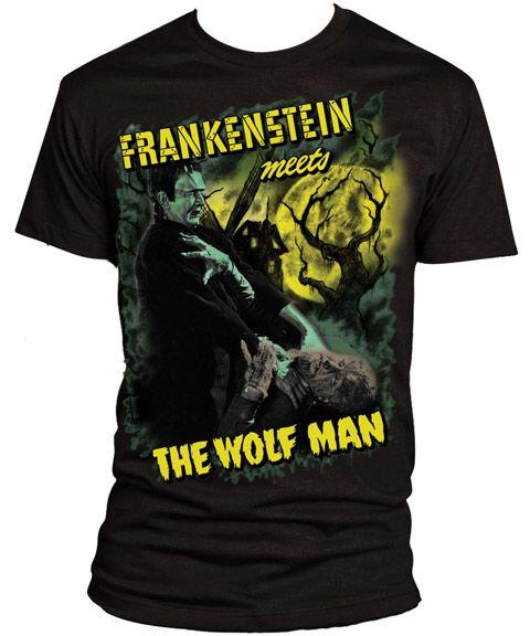 Rock Rebel Universal Frankenstein Meets the Wolfman