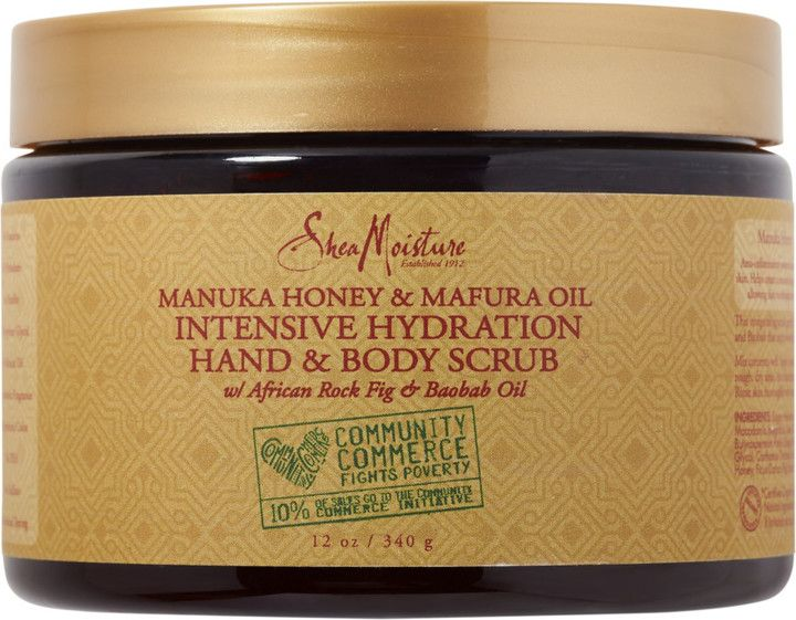 SheaMoisture Manuka Honey & Mafura Oil Intensive Hydration Hand & Body Scrub