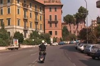Caro Diario, with Nanni Moretti weaving his little scooter through deserted Roman streets in August.