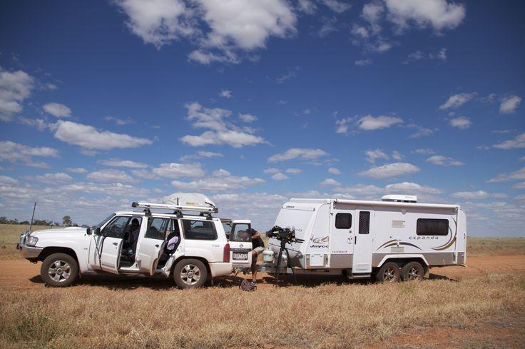 #BehindTheScenes Series 3 #PlacesWeGo #OnLocation #Australia #Birdsville