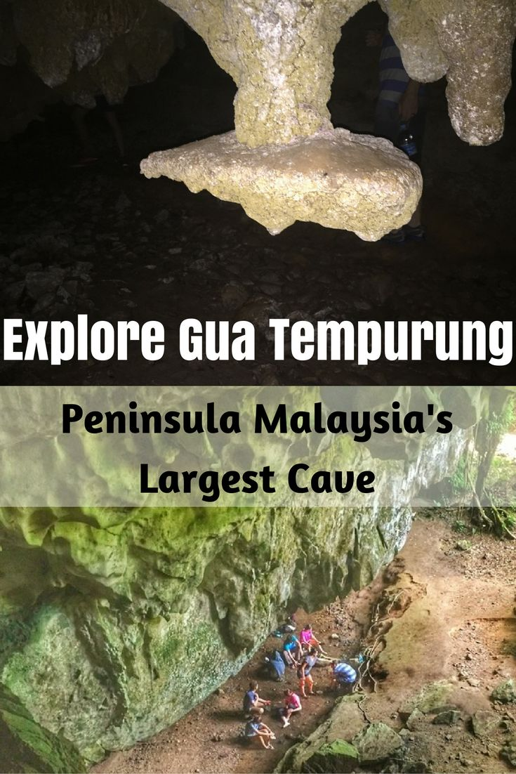 The biggest limestone cave on the Malaysian Peninsula is just one of many epic adventures to be found in the state of Perak.