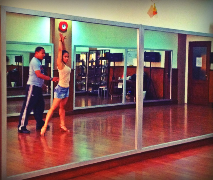 Salsa training - it's fun and keeps you fit! #salsa #dancing