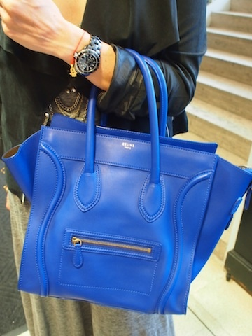 Celine Blue I Love The One In Snakeskin This Color My Style Pinterest Bag Bags And