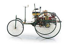 Benz Patent-Motorwagen Nummer 1 aus dem Jahr 1886