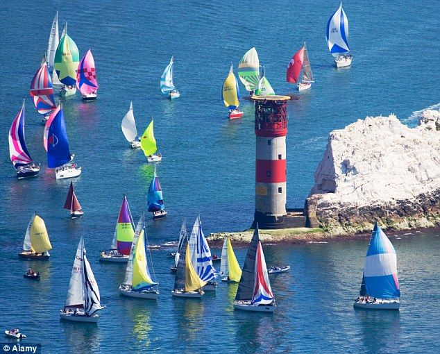 The Isle of Wight is one of Britain's prettiest locations, especially in regatta season