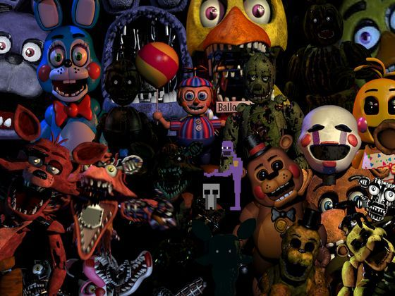 Ever wanted to find out what Fnaf 2 character you are?  With this quiz, you can.  (All pictures belong to their rightful owners)