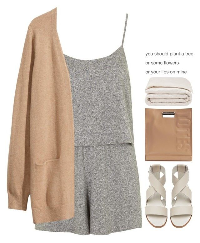 Top Set | ~ by emilypondng on Polyvore featuring H&M, Topshop, Common Projects, 3.1 Phillip Lim and Frette