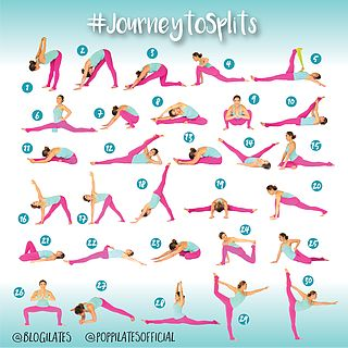 30 Days & 30 Stretches to Splits! #JourneytoSplits | Blogilates: Fitness, Food, and lots of Pilates | Bloglovin