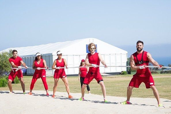 """Brant Daugherty on Instagram: """"Go Red Team! Check us out on Battle of the Network Stars tonight on ABC!"""""""