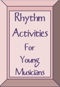 Music Theory:  #RHYTHM Activities.     #musiceducation       #musedchat