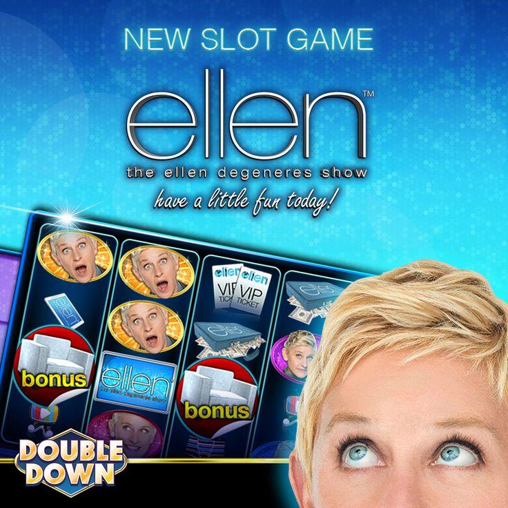 Put on your dancing shoes, because The Ellen DeGeneres Show has come to DoubleDown! Straight from the casino floor, the Ellen DeGeneres Show – Have a Little Fun Today slot machine is now an EXCLUSIVE part of our casino.