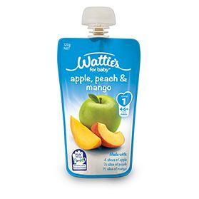 Wattie's Apple, Peach & Mango | Forbaby.co.nz