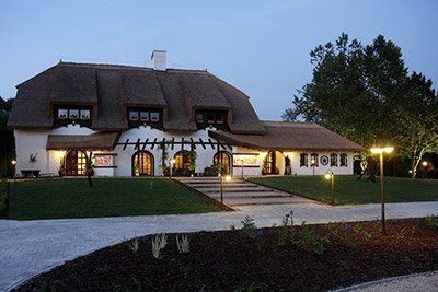 Sári Csárda (Inn) in Hungary.  A Csárda is an Inn where travellers would, traditionally, stop, eat and rest.