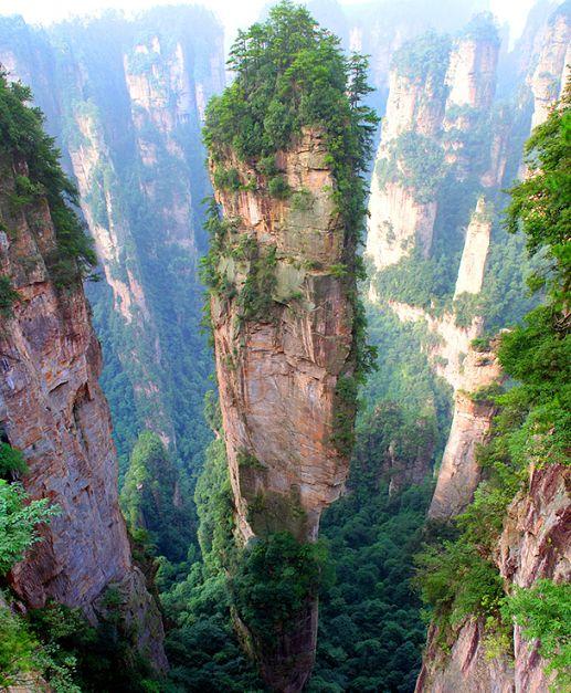 中国 -世界の不思議な観光名所