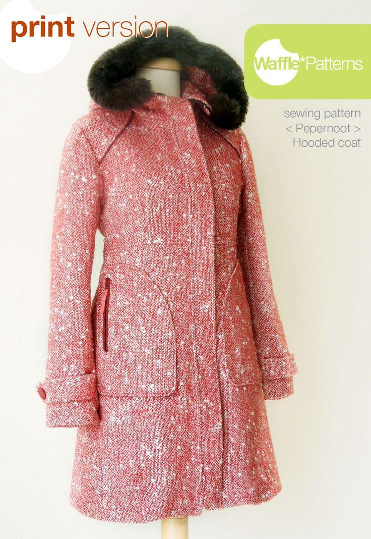 74 besten Coat/Jacket Patterns Bilder auf Pinterest | Schnittmuster ...
