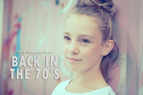 Back In The 70's - Lightroom presets by MDVPresets on @creativemarket