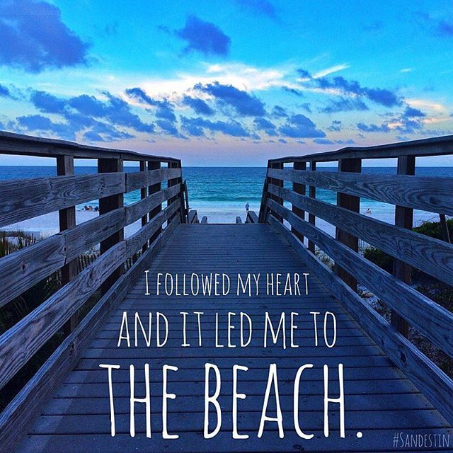 One of our favorite beach quotes. Want more beach quotes to inspire your next beach vacation? Look no further: www.sandestin.com/blog/post/10-quotes-inspire-your-next-beach-trip