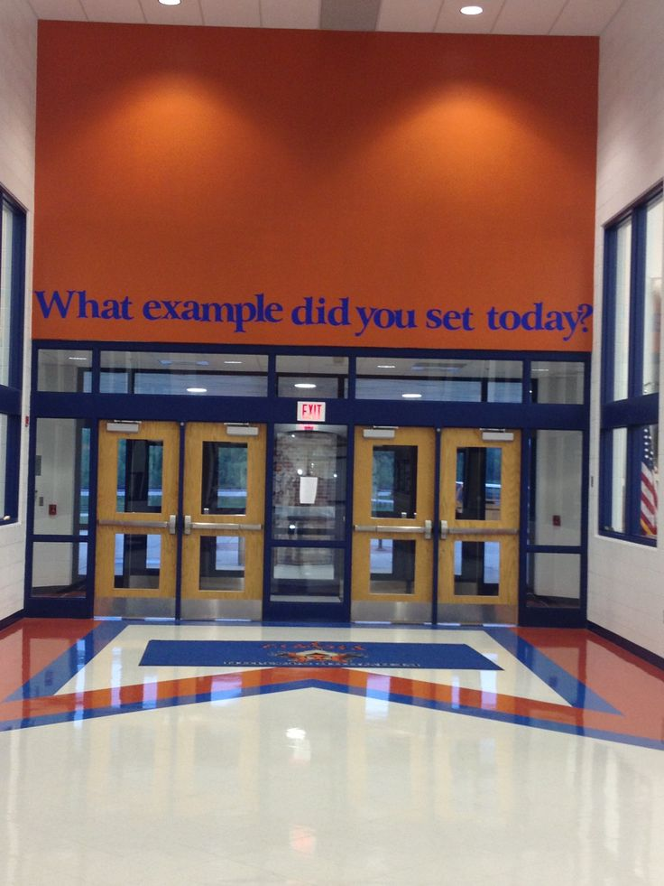 Absolutely LOVE this!!! And would love to put above the doors at MVMS!!!!!
