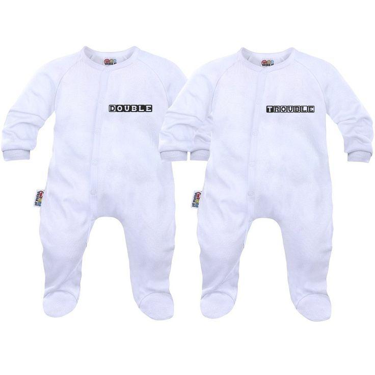 2 x pyjama bébé jumeaux : double trouble - Dors-bien - SiMedio