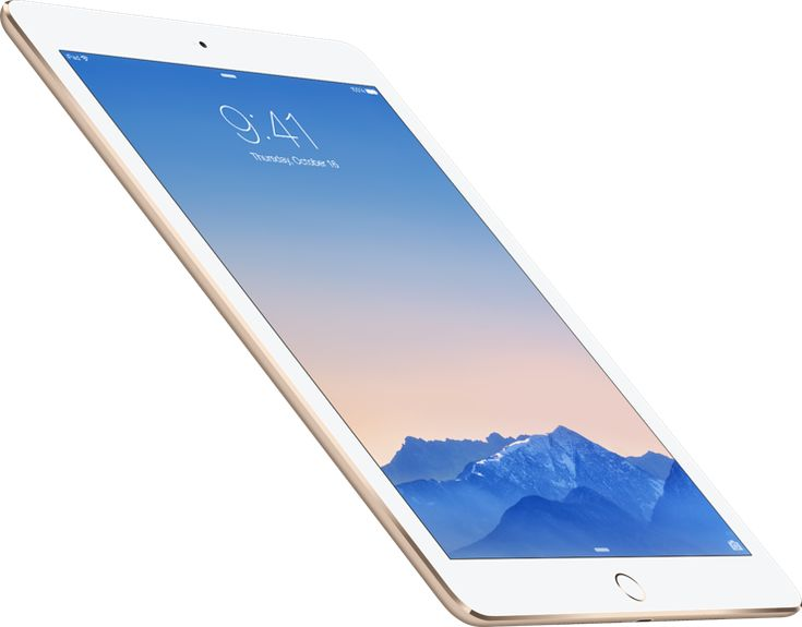 128gb iPad Air2 for presentations...connect with SD card adapter to run slid show though iPhoto