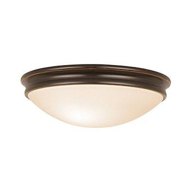 Access Lighting 20724-ORB/OPL Atom Flush Mount