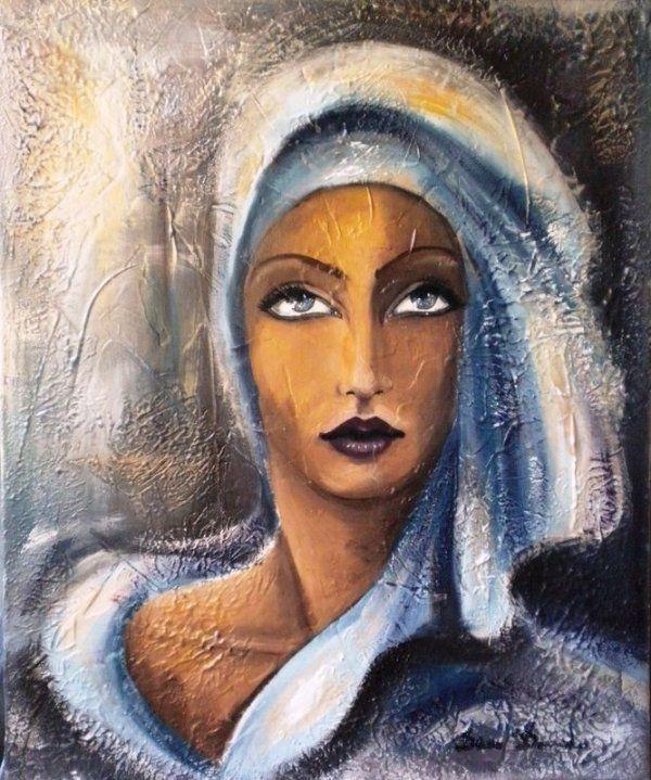 Populaire Les 392 meilleures images du tableau Art PEINTURE FEMMES sur  DC37