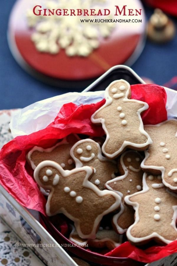 Gingerbread Men Recipe The Best Christmas Recipes On Pinterest