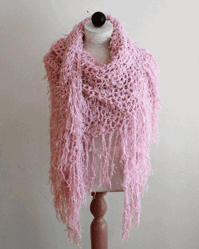 Super Easy Tutu Shawl Crochet Pattern