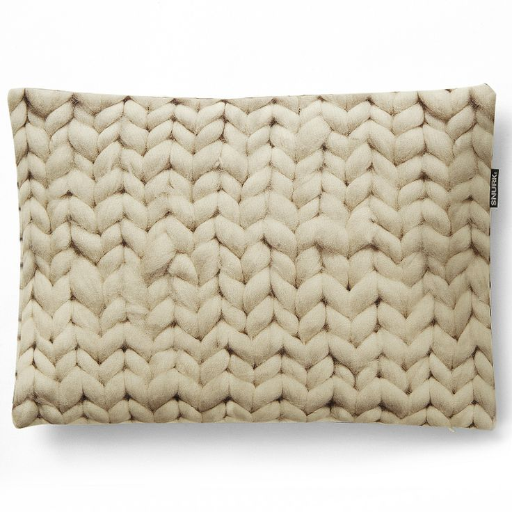 Snurk beddengoed - twirre cushion natural