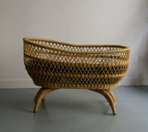 berceau cocon en osier pepe andreani b a b e s. Black Bedroom Furniture Sets. Home Design Ideas