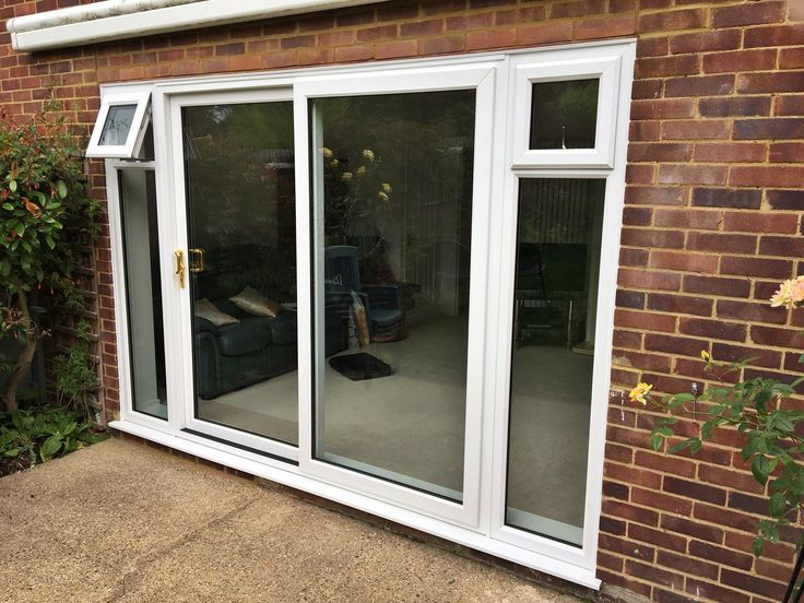 75 best unicorn windows ltd doors images on pinterest a rated upvc two part patio slider door with two full height side windows supplied and planetlyrics Images