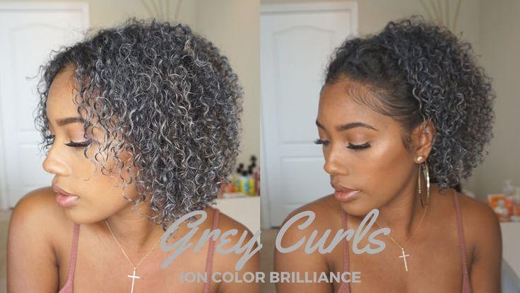 Going Grey - Hair Makeup Ion Color Brilliance Gunmetal [Video] - https://blackhairinformation.com/video-gallery/going-grey-hair-makeup-ion-color-brilliance-gunmetal-video/