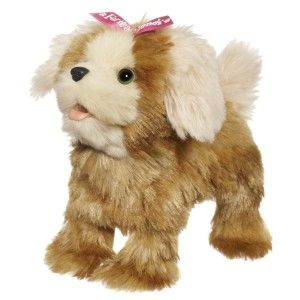 Walkin' Puppies Mini Morkie Pet The noises it makes is just like a real dog. This cute, electronic puppy figure walks around and comes back to you http://bit.ly/1AeSvbF