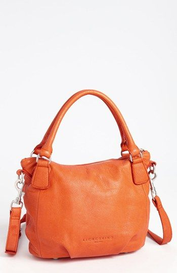 Liebeskind 'Gina' Shoulder Bag, in brown or turquoise, but maybe a little messy...