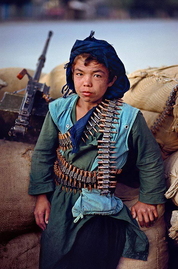 War child, Afghanistan ::: Steve McCurry © So Sad--he is old way before his time:-(