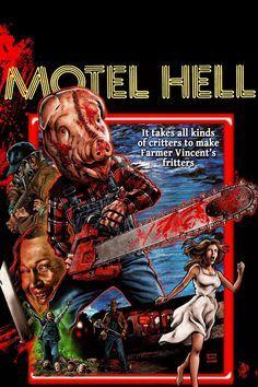 Motel Hell (1980) Stars: Rory Calhoun, Paul Linke, Nancy Parsons, Nina Axelrod, Wolfman Jack, Elaine Joyce ~ Director: Kevin Connor