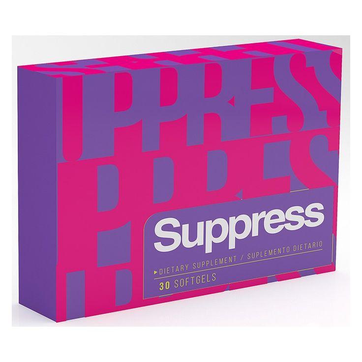 Suppress capsulas x 30 para bajar perder peso adelgazar