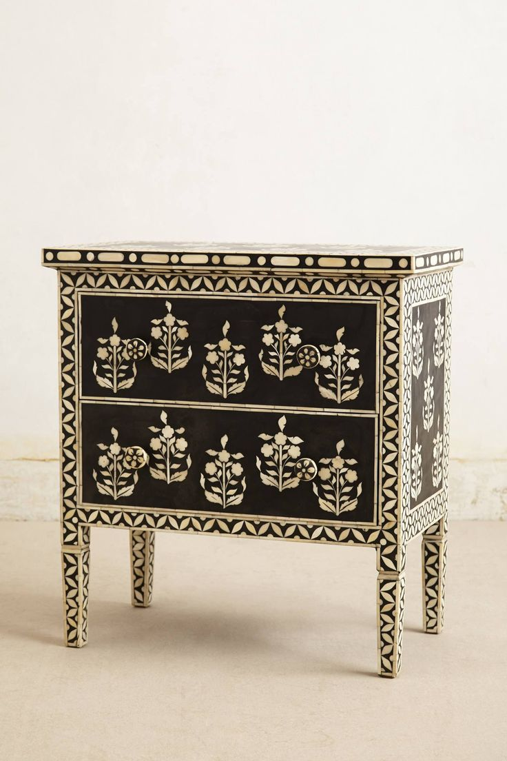 Paisley Inlay Dresser This Would Look Cool With My Green White Secretary
