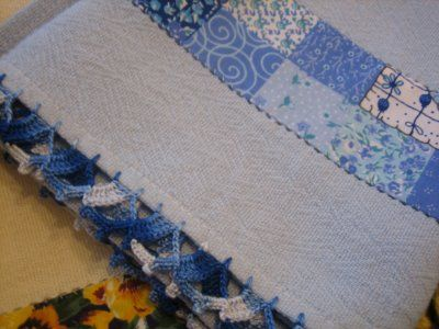 - Bico de Crochet numa só carreira!: Kiss, Hook, Crochet, Nozzles, Crochet Edgings